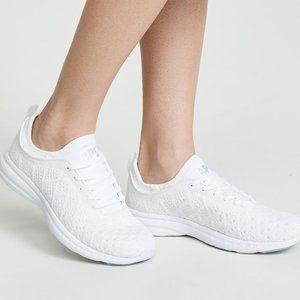 APL TechLoom Phantom white tennis shoes 7.5